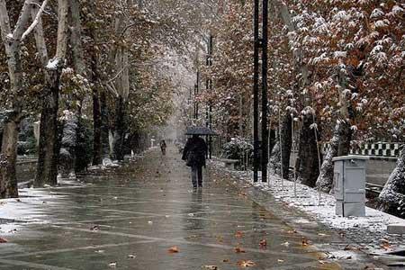 بارش باران و برف در کشور طی 24 ساعت آینده